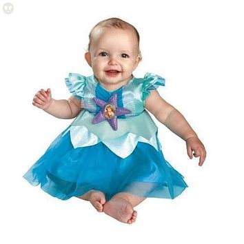 The Ariel The Little Mermaid Deluxe Infant Costume