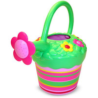 Melissa & Doug Sunny Patch Collection - Blossom Bright Watering Can - Melissa & Doug - Gardening - FAO Schwarz®