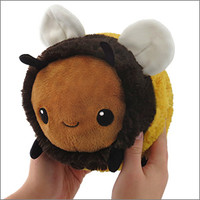 Mini Squishable Fuzzy Bumblebee: An Adorable Fuzzy Plush to Snurfle and Squeeze!