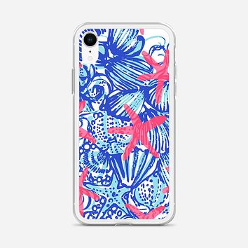Lilly Pulitzer Monogram iPhone XR Case