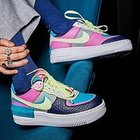 Nike Air Force 1 Shadow Fashionable Women Men Leisure Sport Running Shoes Sneakers