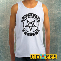 Motley Crue Pentagram Logo Clothing Tank Top For Mens