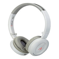 Sykik HP0201WE Pal Bluetooth Stereo Headphone, White