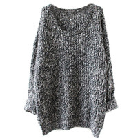 Oversized Loose Knitted Pullover Sweater