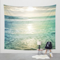 Waves Wall Tapestry by Endlessly Wild