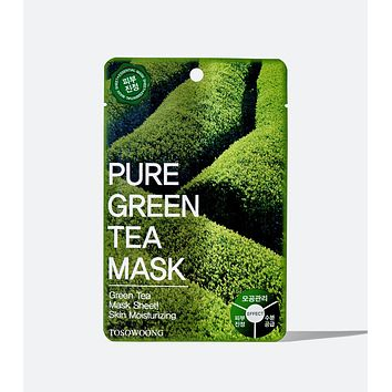 Pure Green Tea Mask Pack