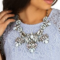 Blossoming Dream Statement Necklace