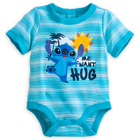 Stitch Disney Cuddly Bodysuit for Baby