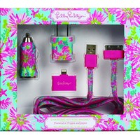 Lilly Pulitzer Charging Kit - Trippin and Sippin