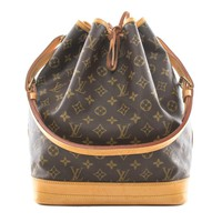 Tagre™ Authentic Louis Vuitton Noe monogram shoulder bag M42224