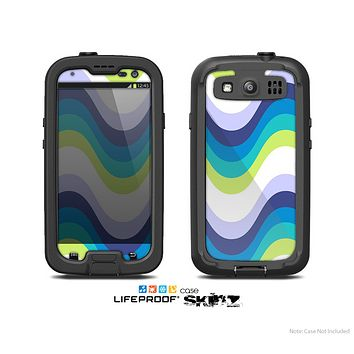 The Fun Colored Vector Sharp Swirly Pattern Skin For The Samsung Galaxy S3 LifeProof Case
