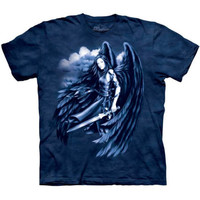 FALLEN ANGEL The Mountain Sword Fantasy Goth Gothic Dark Angel T-Shirt S-3XL NEW