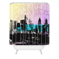 Amy Smith Philadelphia Shower Curtain