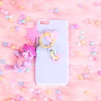 [Pixie] Toy Keyring Phone Case Sky Pretty Bit Popples