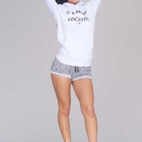 Crooks & Castles Champagne & Cocaine Pullover - White - Tops - Clothing