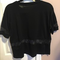 Brandy Melville top with mesh