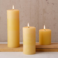 Big Dipper Wax Works Beeswax Pillar Candle | Urban Outfitters