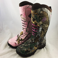 Women's Pursuit Stealth Muck Boots - Realtree XTRA® & Realtree APC® (Size 8 ONLY)