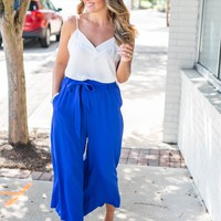 In The City Pants - Royal Blue