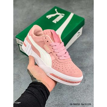 Puma  Cali Bold Wn's Suede casual sports shoes