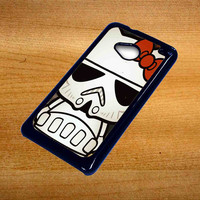 Hello Kitty Stormtrooper For Htc One M7 Case *76*