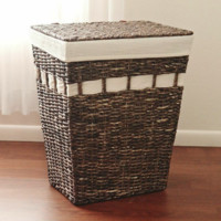 Malina Rectangular Hamper Light Coffee