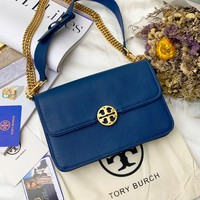 TB TORY BURCH WOMEN'S LEATHER INCLINED SHOULDER BAG