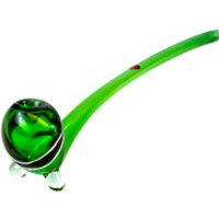 "Dynomite Glass - 13"" Gandalf w/ 2 Color Racing Stripe"