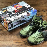 Air Jordan 6 Pinnacle AJ6 green