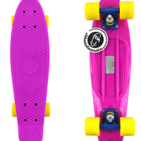 "Fish Skateboard Purple 22"" Urban Retro Cruiser Choose Your Color NEW! FREE SHIP!"