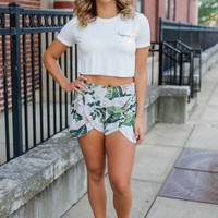 Happiness Crop Top