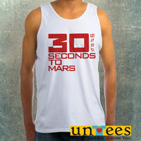 30 Seconds to Mars Clothing Tank Top For Mens