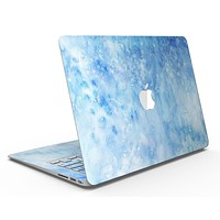 Mixed Blue Absorbed Watercolor Texture - MacBook Air Skin Kit