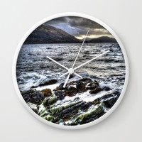 Before the storm Wall Clock by Haroulita | Society6