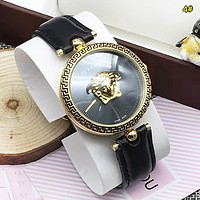 Versace New fashion dial human head couple watch wristwatch 4#