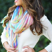 Paint With All The Colors Scarf: Multi | Hope's