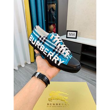 BURBERRY2021 Men Fashion Boots fashionable Casual leather Breathable Sneakers Running Shoes07020yph