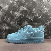 Nike Air Force 1 07 LV8 Low Suede Pack Teal Men Sneaker - Best Deal Online