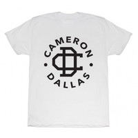 Cameron Dallas Cameron Dallas Logo T-Shirt - All Merchandise - BLV Brands