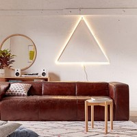 Baker Leather Sofa | Urban Outfitters