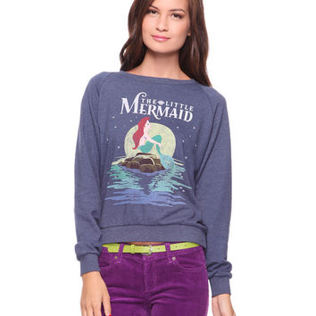 Little Mermaid French Terry Top