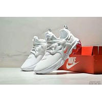 NIKE PRESTO REACT trend retro men's and women's wild sports shoes white