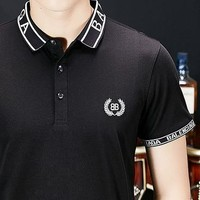 BALENCIAGA Trending Popular Men Embroidery Polo Shirt Top Tee