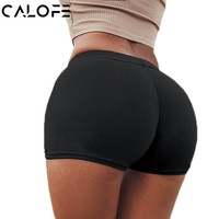 Sports Shorts Tight Compression Elastic Running Shorts Women Yoga Gym Jogging Bottoms Quick Dry Hips Up Gym Shorts Sexy