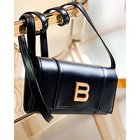 Balenciaga new hourglass messenger bag clutch bag shopping bag