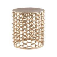 Xanthi Accent Table Gold