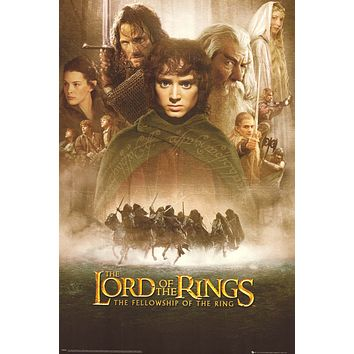 Lord of the Rings: The Fellowship of the Ring 24x36