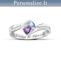 Womens Ring: Loves Promise Personalized Ring