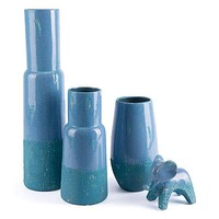A10063 Neo Tall Vase Blue