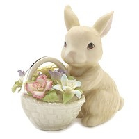 Lenox® Bunny's Basket of Flowers Figurine